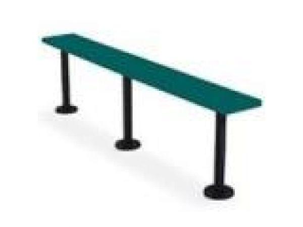 Lenox¢â€ž¢ Solid Plastic Pedestal Bench