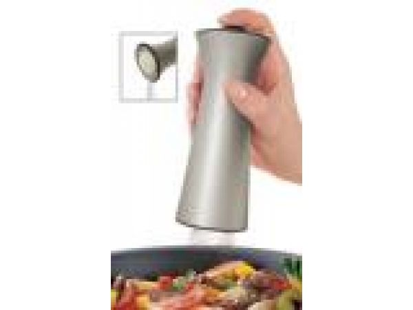Auto-Measure Stove Top Salt and Pepper Shaker