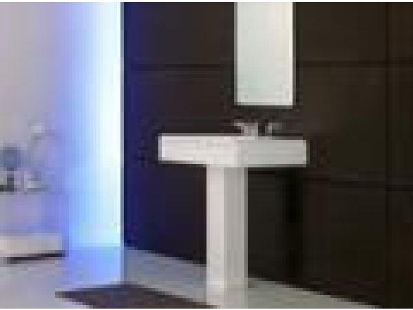 Ethos Collection, Design C Pedestal Lavatory