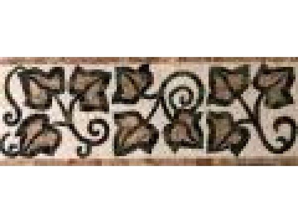Stone Mosaics-7x19 Ivy II