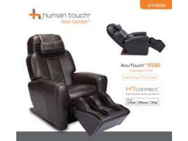 AcuTouch 9500 Massage Chair Featuring HT-Connect