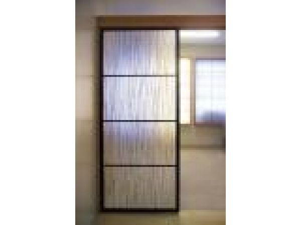Eco Bamboo Sliding Door