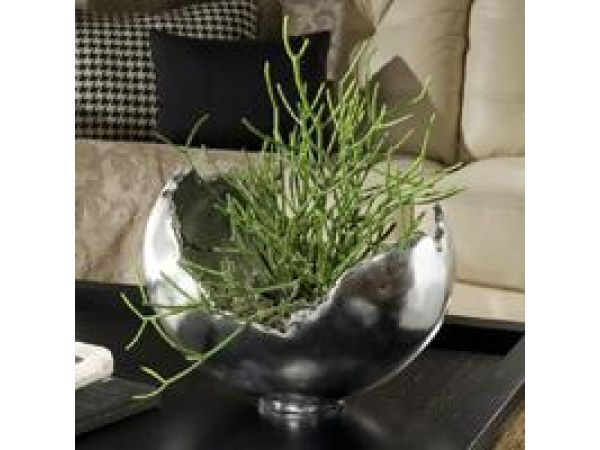 Silver Leaf Burled Bowl