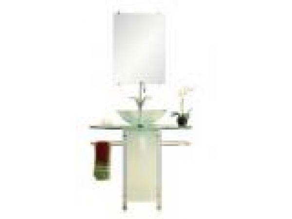 3350T- TNG ¢â'¬â€œ Tempered Glass Pedestal