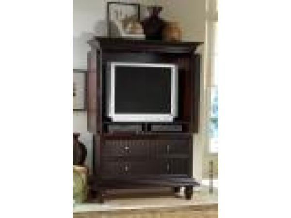 5015 T / Armoire (Top / Hutch)As TV / Entertainment Armoire