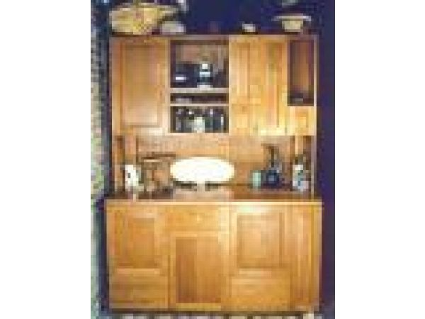 Cherry Upright Cabinet