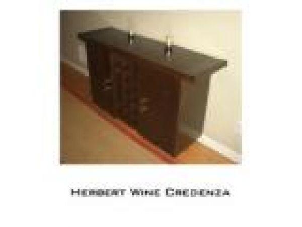 Herbert Wine Credenza