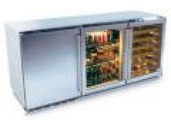 72-inch Three Door Refrigerated Cabinet