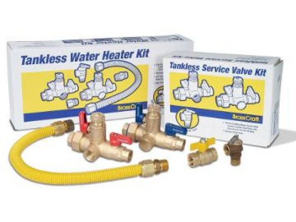 Tankless Water Heater Installation Kits
