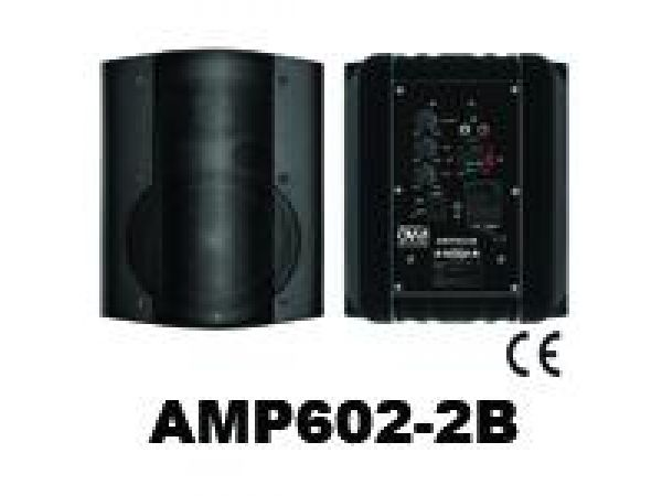 SURFACE MOUNT AMPLIFIED SPEAKERS AMP602-2B