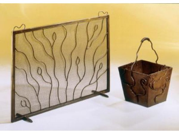 STEEL FIREPLACE ACCESSORIES