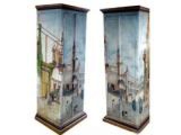 Armoire- Cabinet The city