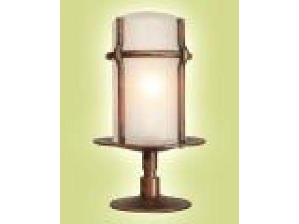 Nizza Nice Pedestal Mount Lamp
