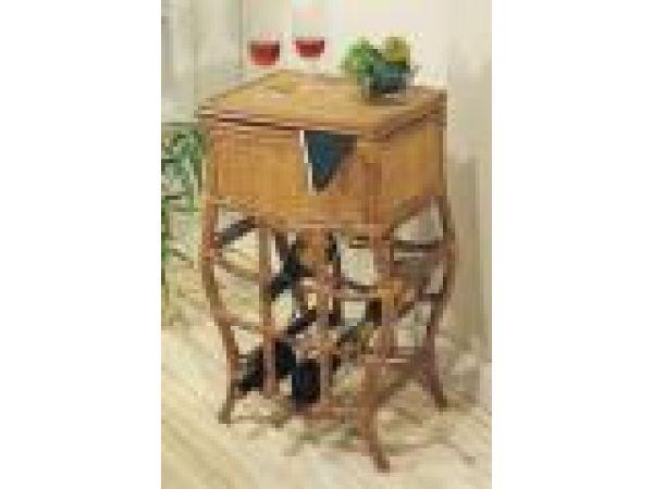 Rattan Wine Table