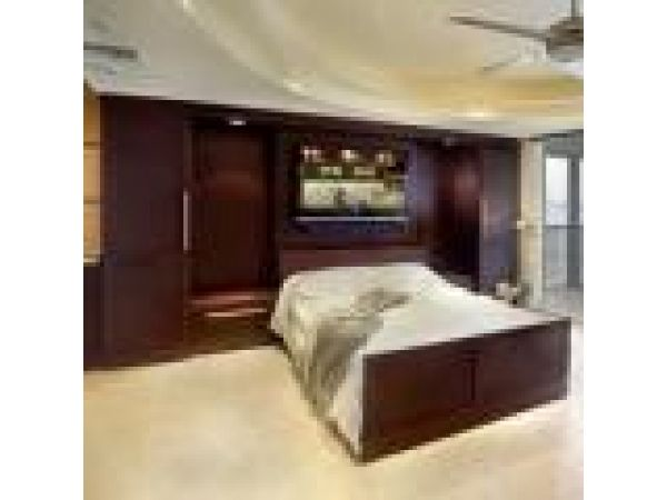 Zoom-Room retractable bed
