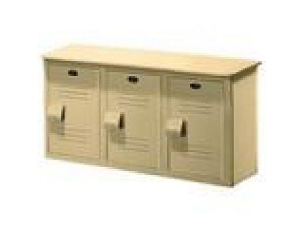 Lenox¢â€ž¢ Solid Plastic Locker Bench