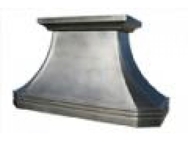 Pewter French Country Hood Nouveau Band