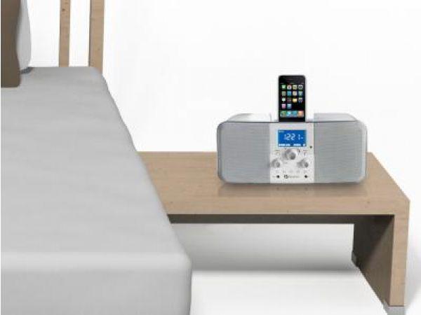 Duo-i plus AM/FM Stereo Radio w/iPhone iPod Dock