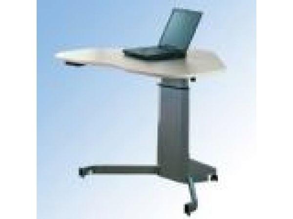 Single Column Electric Height Adjustable Desk