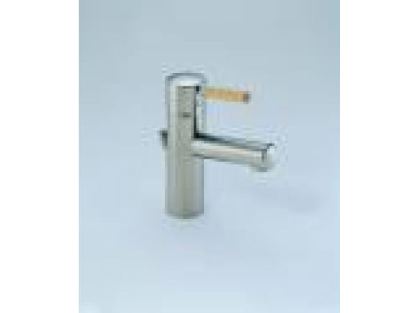 Brizo's Quiessence  faucet with wood handle