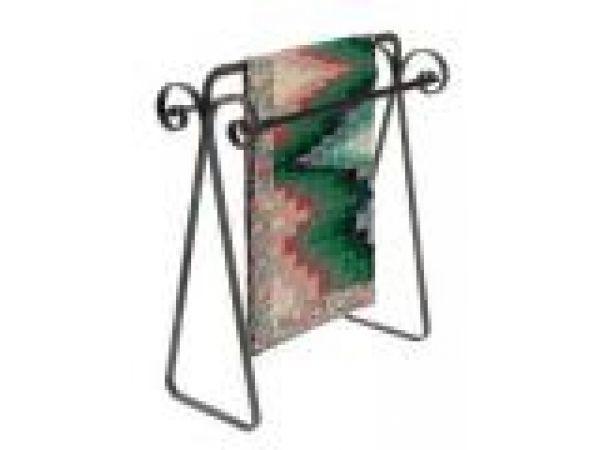 QR3 Scrolled Quilt Rack