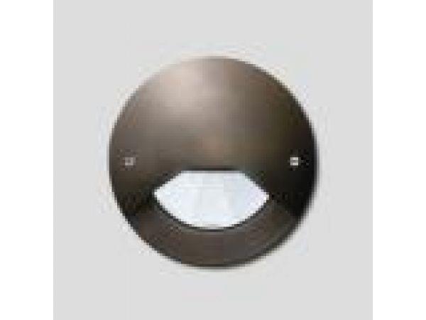 In-grade - cast bronze round
