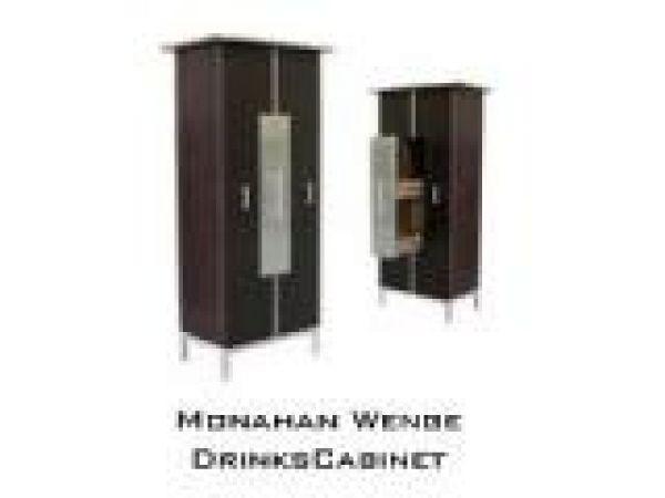 Monahan Wenge Drinks Cabinet