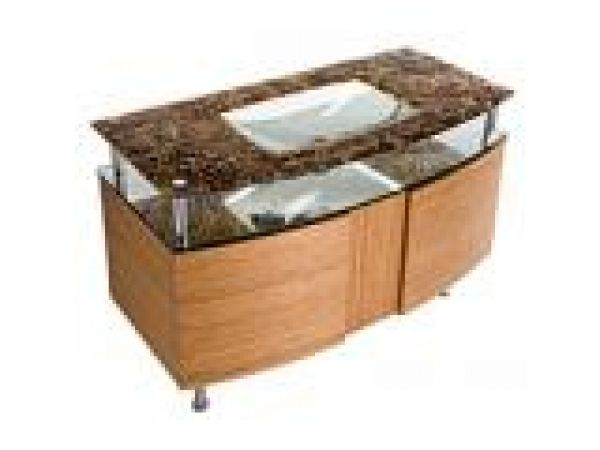 Integral Glass Sink & Countertop by Alchemy