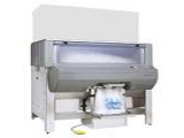 Ice Pro automatic ice bagging dispensing bin
