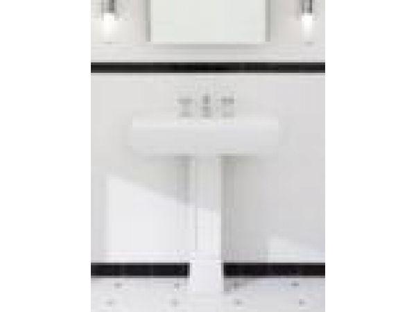 Ethos Collection, Design N I Pedestal Lavatory