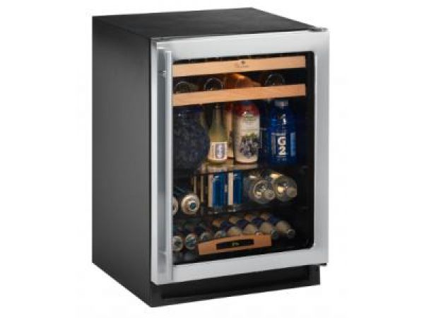 Energy Efficient Glass Door Refrigerator with Wine