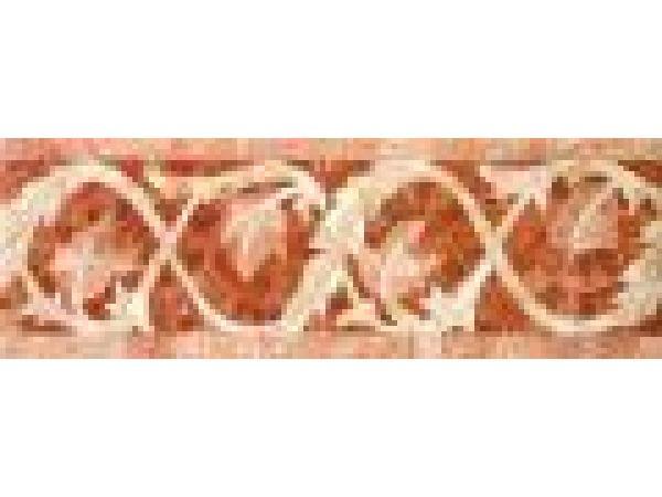 Stone Mosaics-4.5x13 Twisting Ivy D