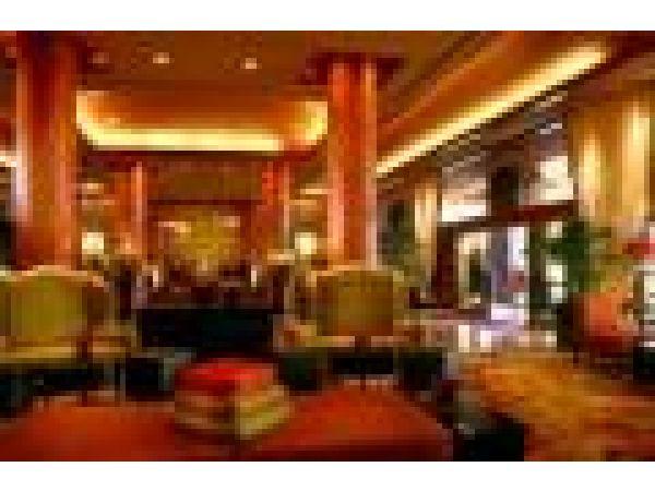 Marina Del Rey Marriott Lobby