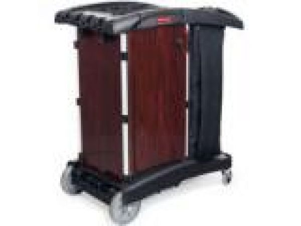 9T94 Deluxe Paneled Compact Housekeeping Cart