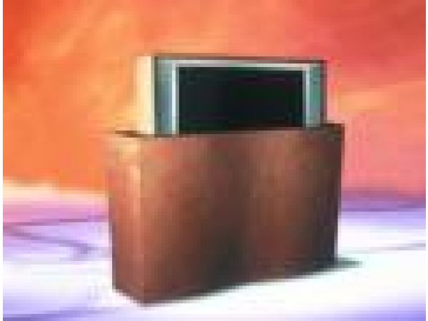 Wave Television Lift Cabinet