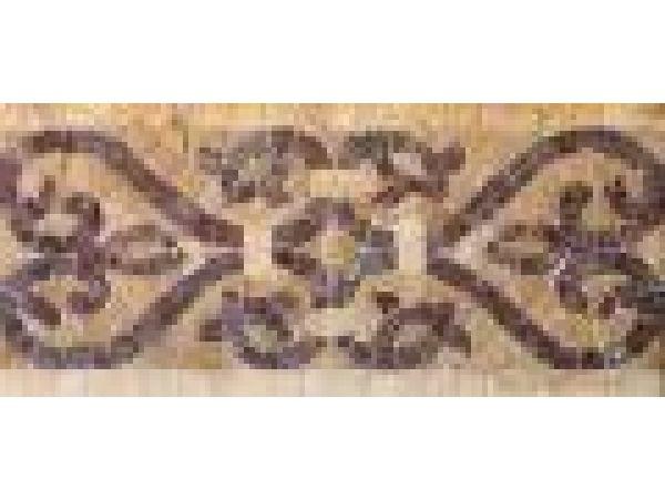 Stone Mosaics-5.5x11 Fench Harp K