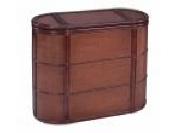 Woven Rattan Sectioned Hamper