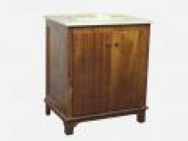 2 Doors Wood Cabinet Finish Antique Light