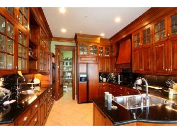 Custom Antique Kitchen