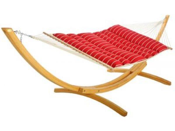 Royal Red Stripe Pillowtop Hammock