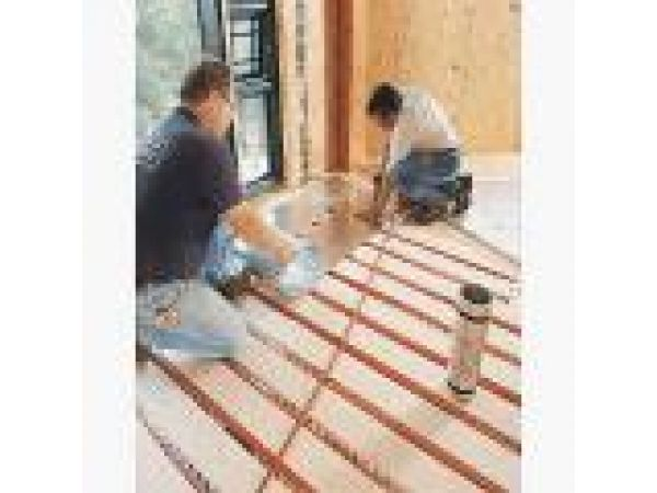 SubRay Hydronic Floor Warming System