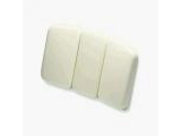 Tri-fold Bath Pillow