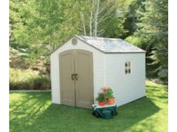 8-Foot Wide Storage Shed
