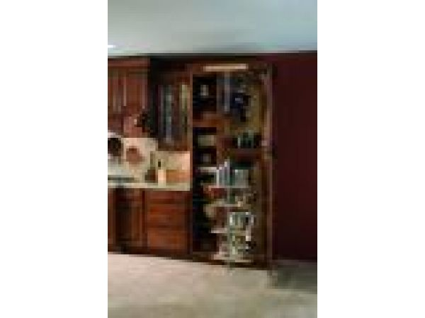 Utility Storage Cabinet With Pot & Pan Pull-Out