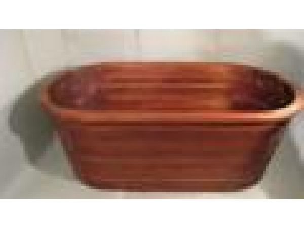 Royal Mahogany Tub