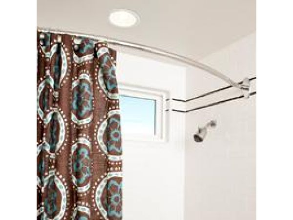 motiv Curved Shower Rod