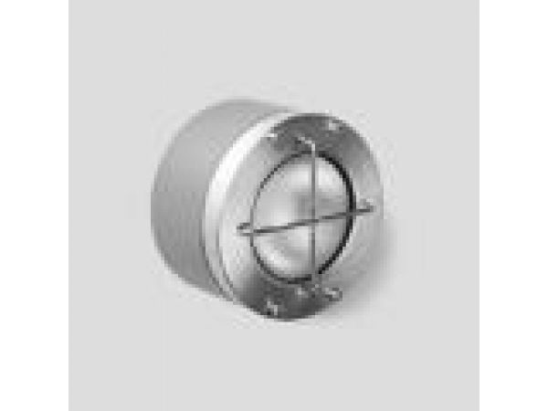 Semi-recessed - stainless steel with guard