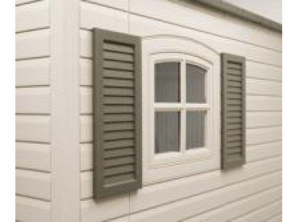 Shed Window Shutters