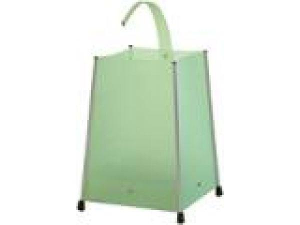 Dingos Waste-Paper Basket New Green