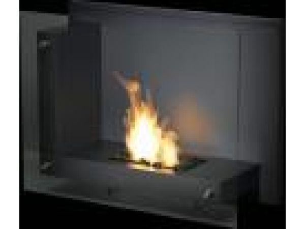 Anthracite Freestanding Bio Fireplace